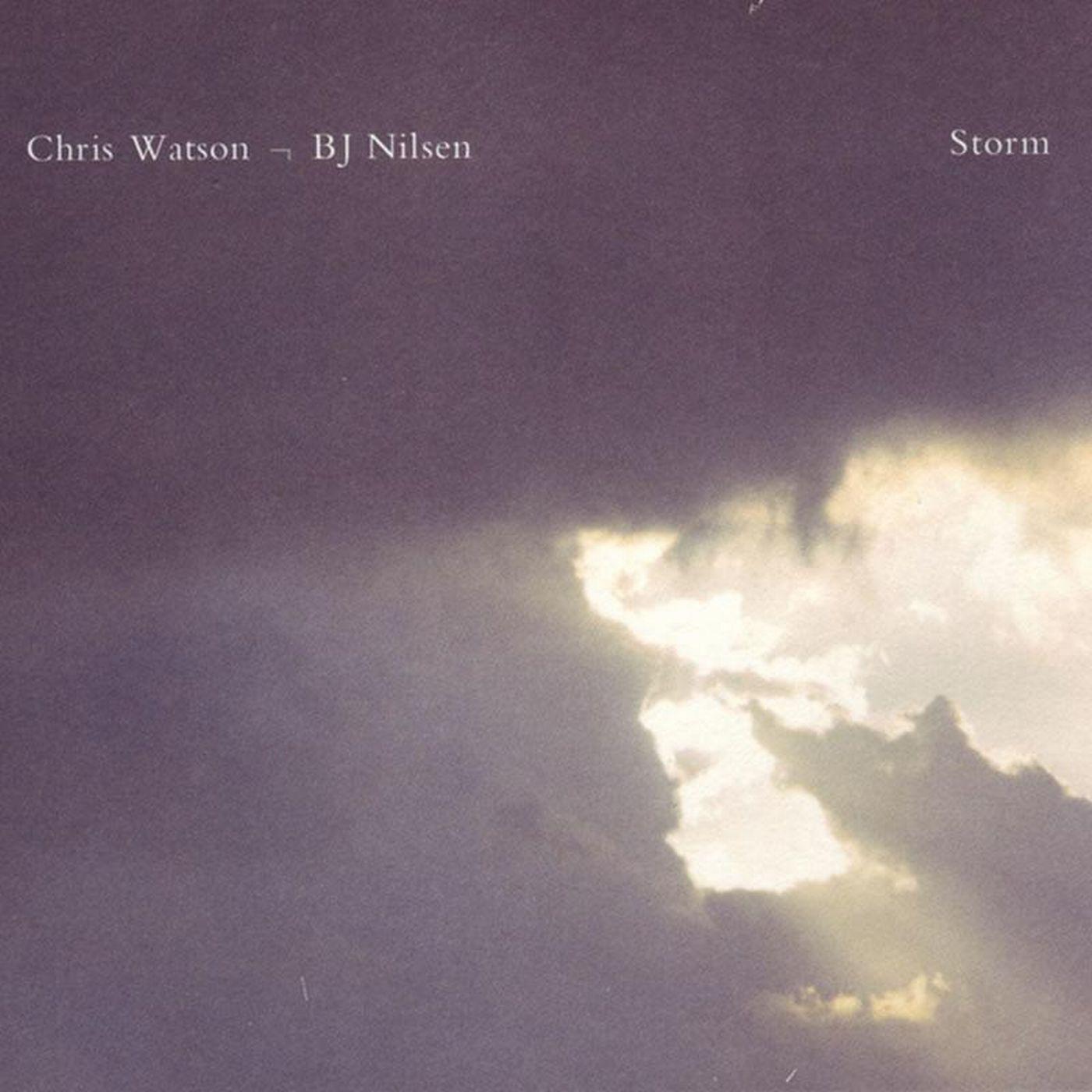 TONE27 - Storm - Chris Watson BJNilsen